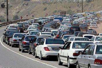 ترافیک سنگین در مسیرهای شمالی استان تهران