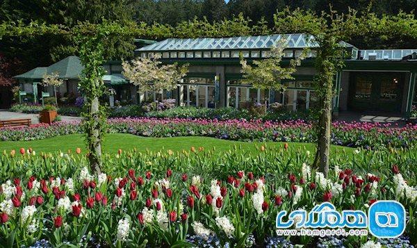 آشنایی با قسمت های مختلف باغ های گل بوچارت