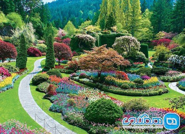 باغ سانکن (Sunken Garden)