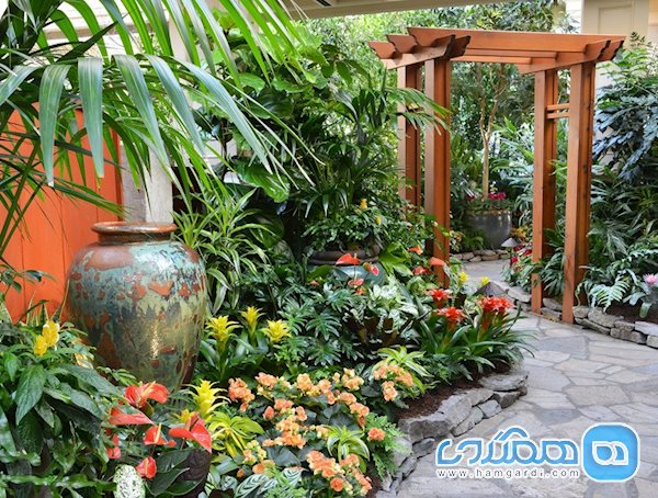 باغ سرپوشیده بهاری (Spring Prelude Indoor Garden)