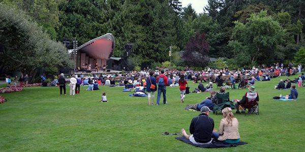 کنسرت در فضای باز