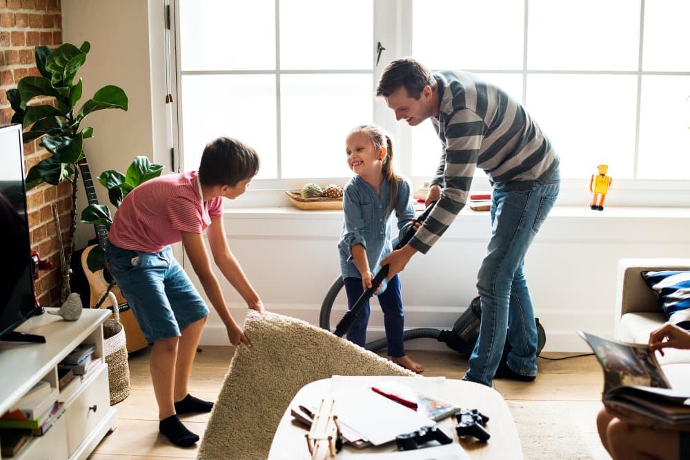 چند راهکار برای خانه تکانی سریع تر و راحت تر