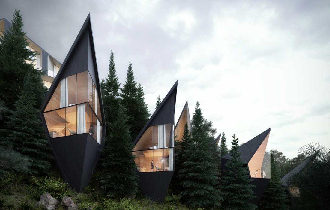 معرفی معروف ترین هتل های درختی دنیا