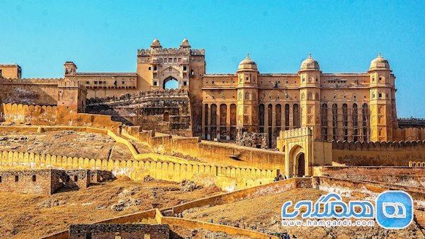قلعه آمبر | تلفیقی از معماری ایرانی و هندی