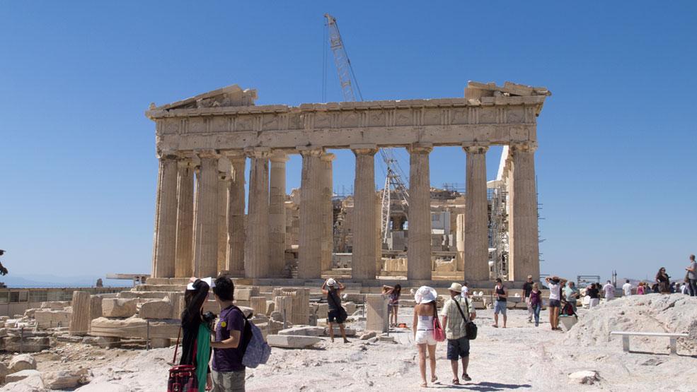 معبد پارتنون؛ یکی از بی مثال ترین پرستشگاه های کشور یونان