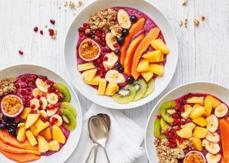فواید مصرف میوه در صبحانه/بهترین صبحانه پرانرژی برای بچه ها