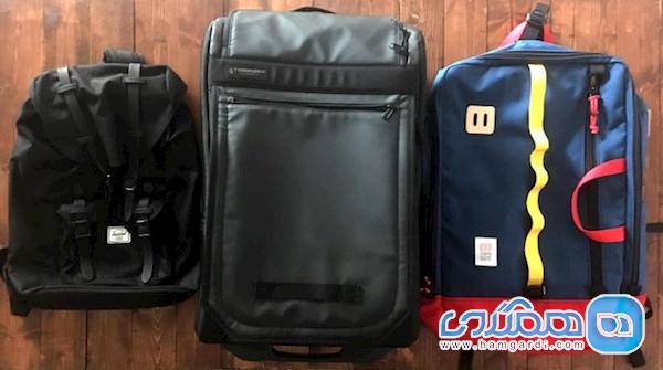 چمدان و کوله پشتی سفر