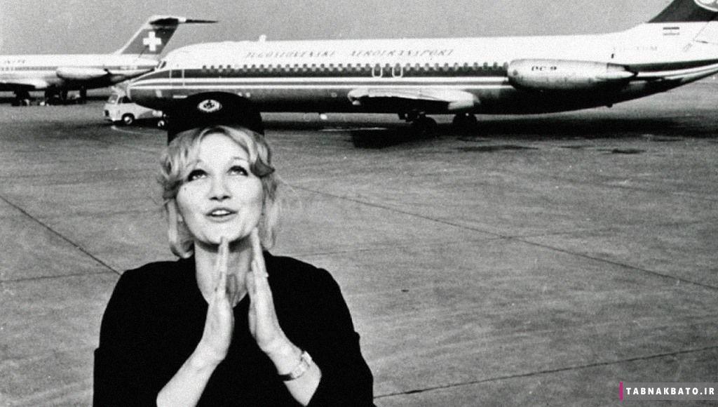 زنده ماندن مهماندار هواپیما پس از سقوط از ارتفاع ۱۰ هزار متری + تصاویر