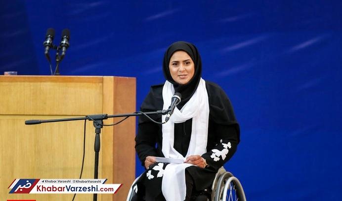 زهرا نعمتی: الگوی من حمید سوریان است
