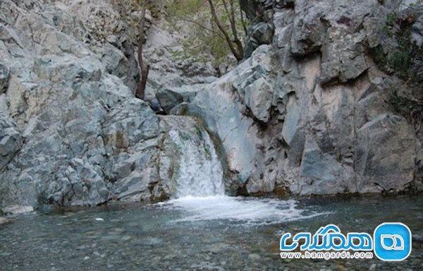 گلم دختر کش کرمان، آبشاری زیبا و جادویی + تصاویر