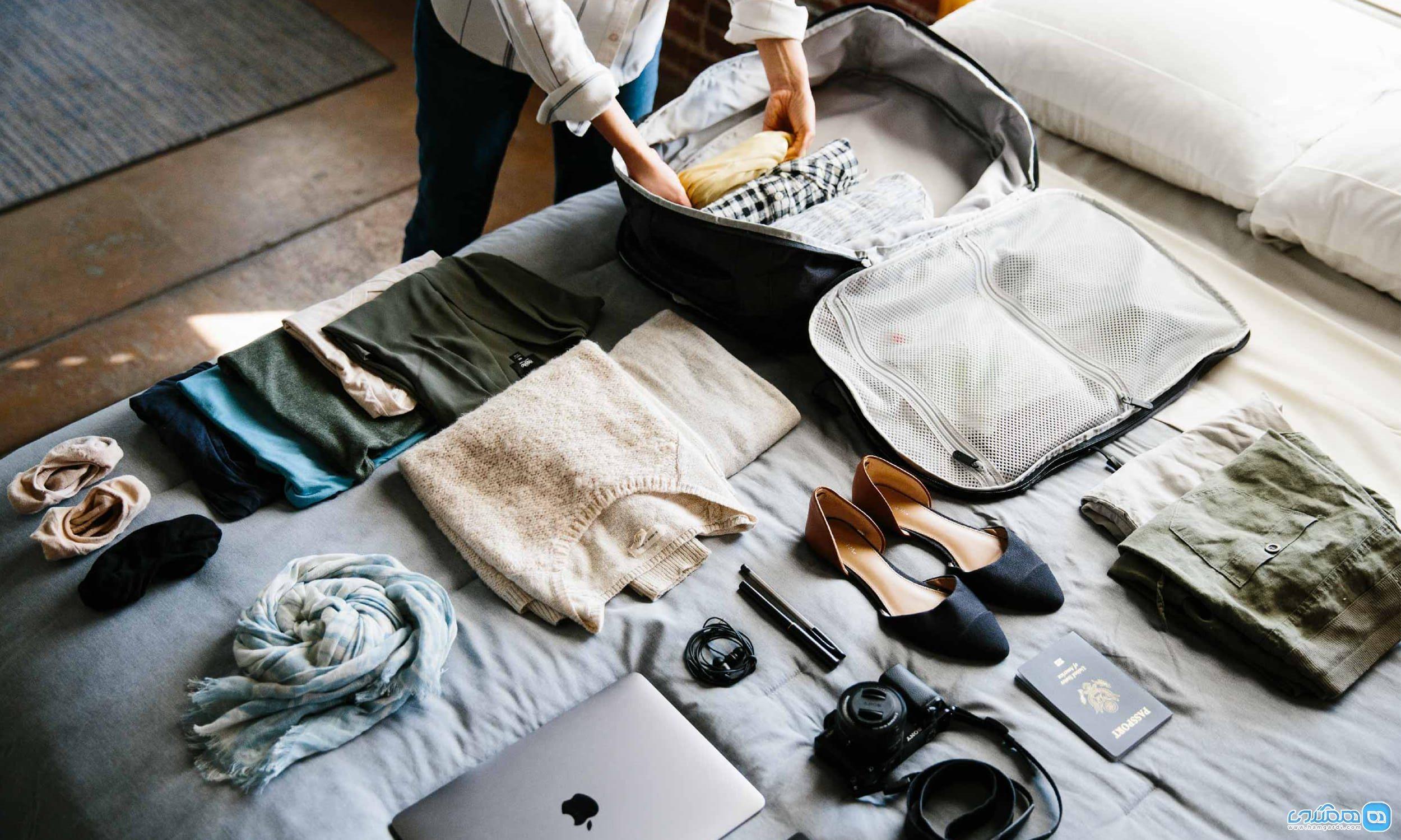 لباس های ویژه سفر برای خانم ها