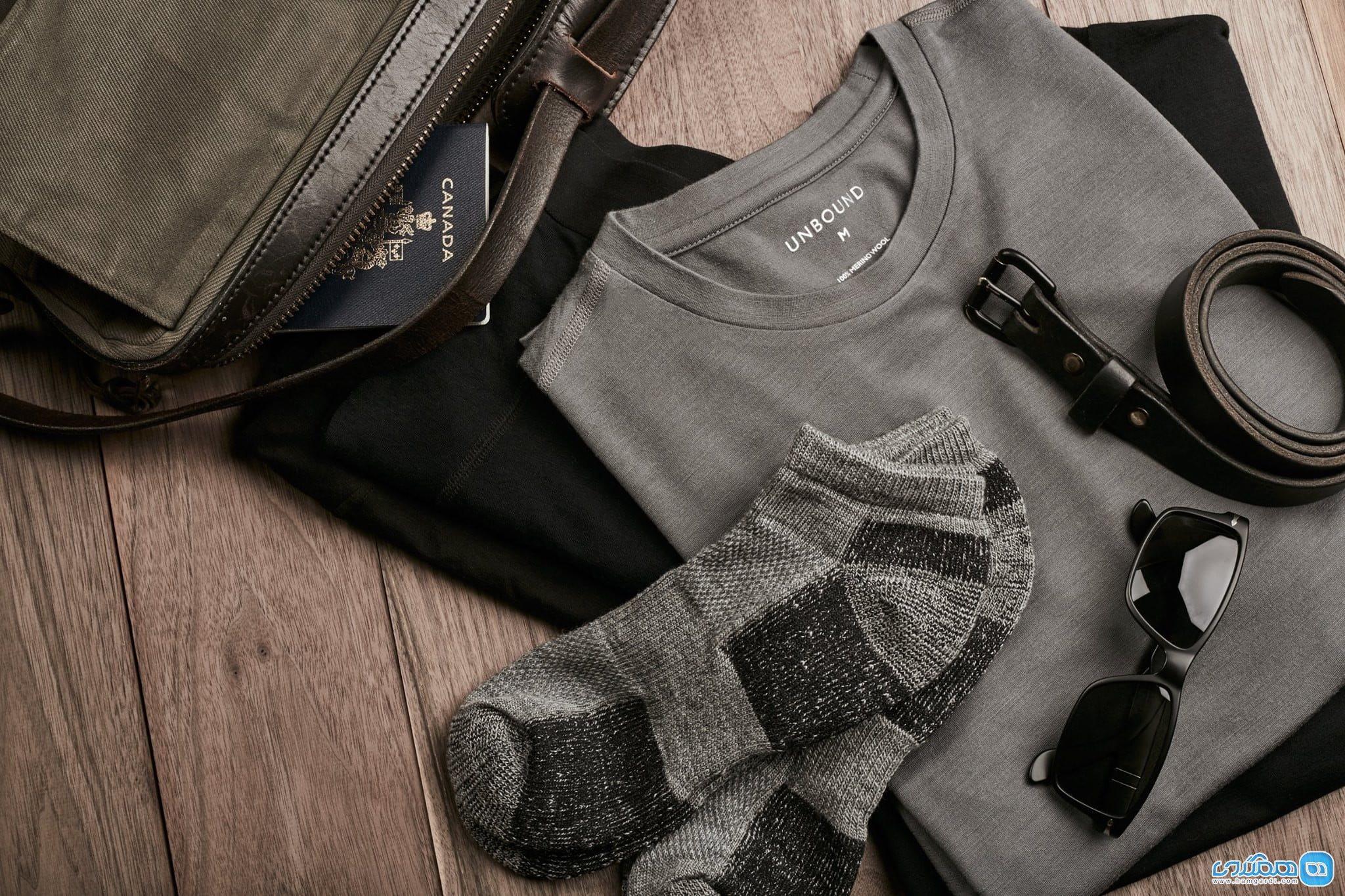 لباس های ویژه سفر برای آقایان