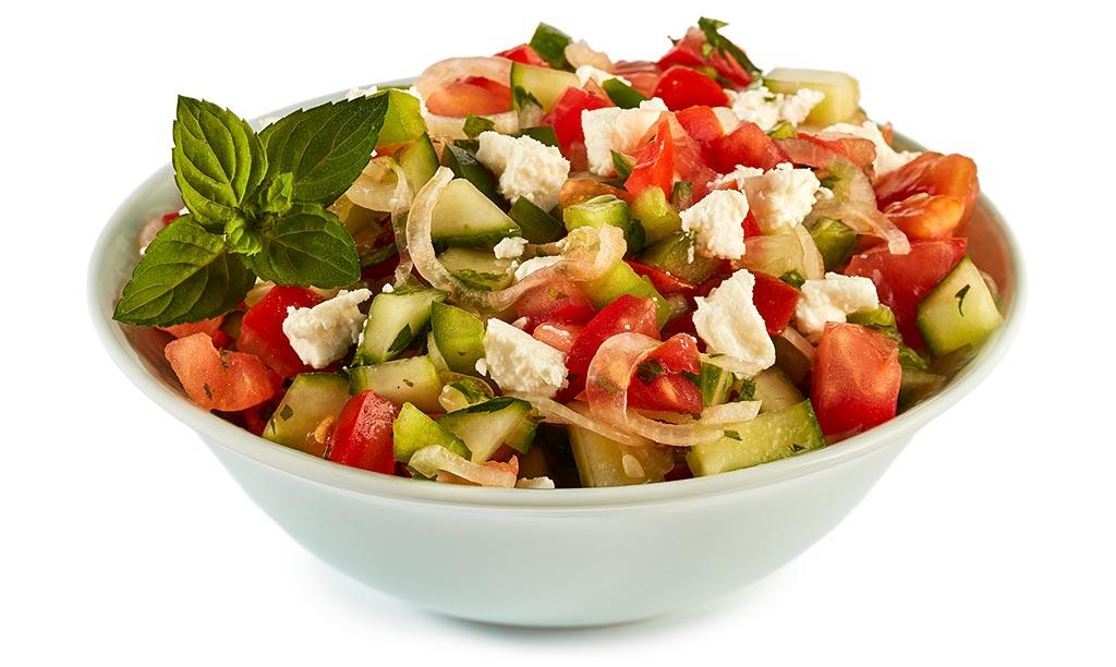 چوبان سالاتاسی نوعی غذای اصیل ترکی است.
