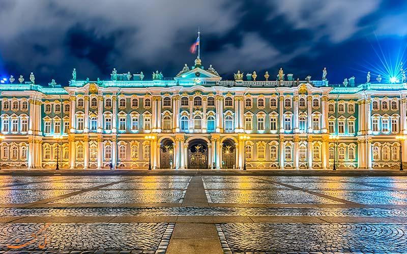 کاخ زمستانی روسیه/زیباترین کاخ های سلطنتی