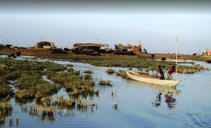 هور العظیم بزرگ ترین تالاب استان خوزستان