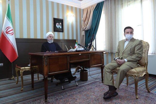 روحانی: امیدواریم با همکاری مردم، جشن نیمه شعبان، جشن پایان کرونا در کشور باشد