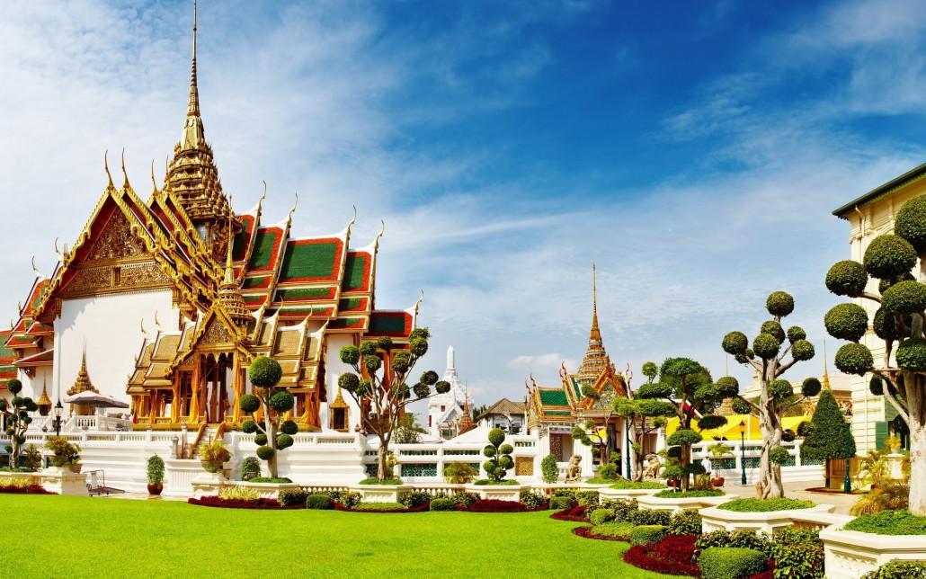 کاخ بزرگ تایلند/زیباترین کاخ های سلطنتی