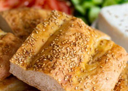 طرز تهیه نان بربری در خانه با دستور بسیار ساده