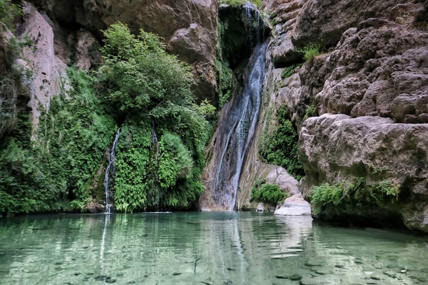 آبشار  تنگه رغز