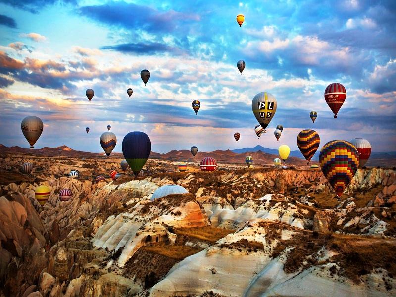 بخش های کم گردشگرتر کاپادوکیه Cappadocia