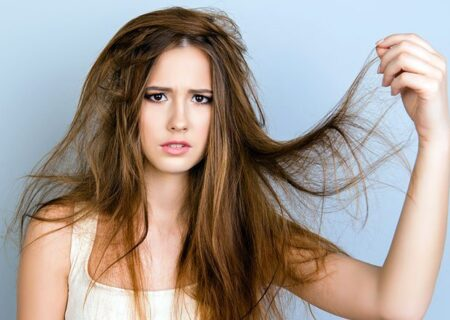 درمان طبیعی موی خشک و آسیب دیده