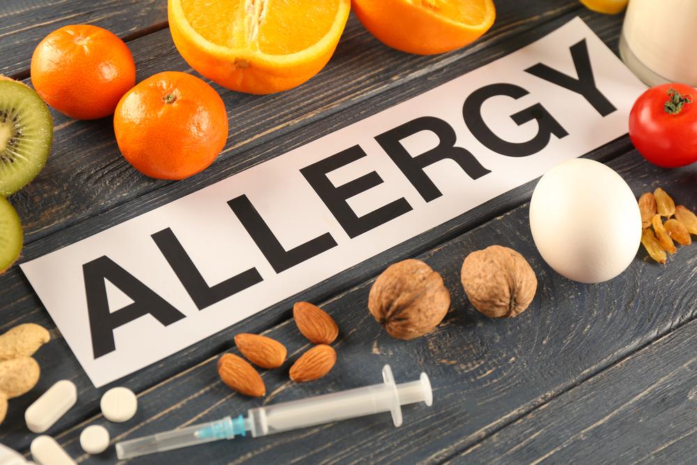 آلرژی غذایی علائم و درمان خانگی آن