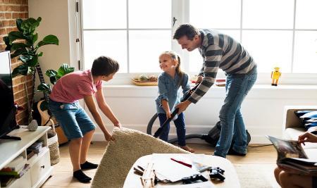 ۵ راهکار برای والدین تا خانه را در روزهای کرونایی سالم نگهدارند