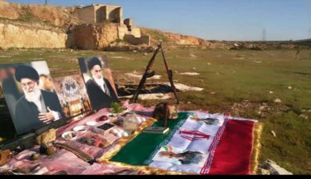 سفره هفت سین مدافعان حرم در «خان طومان» + عکس