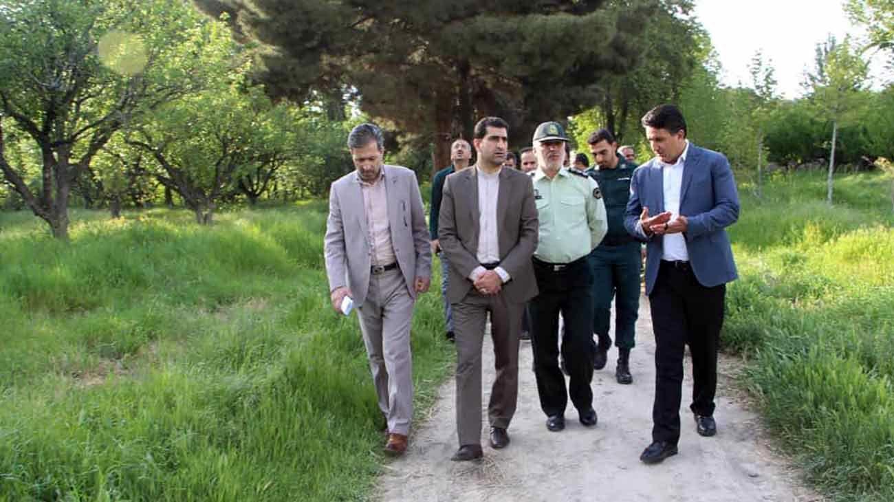ورود دادستان شهریار به موضوع قطع درختان باغ مرحوم آیت اللهی در باغستان