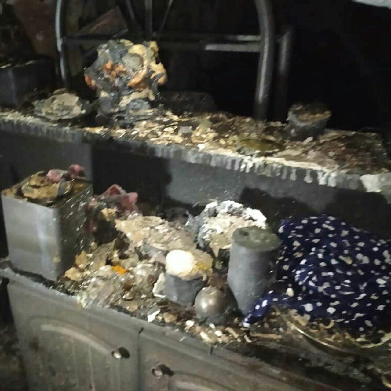زنده زنده سوختن زن جوان و ۲ فرزندش در آتش / بقیه خانواده کجا هستند؟+ عکس / خرم آباد
