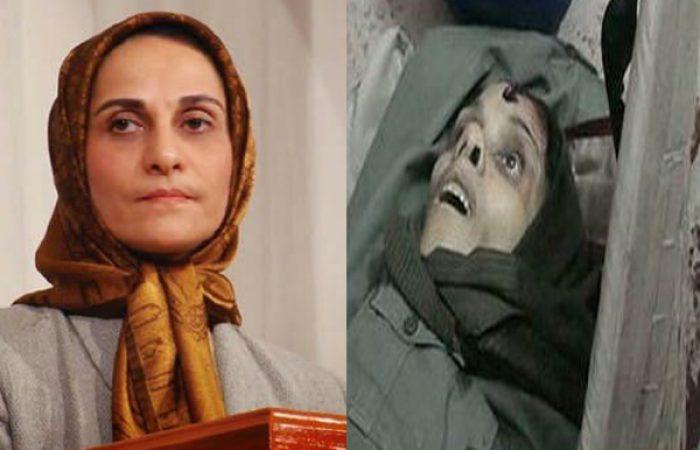 زنی که مسئول ترور شهید صیاد شیرازی بود +عکس