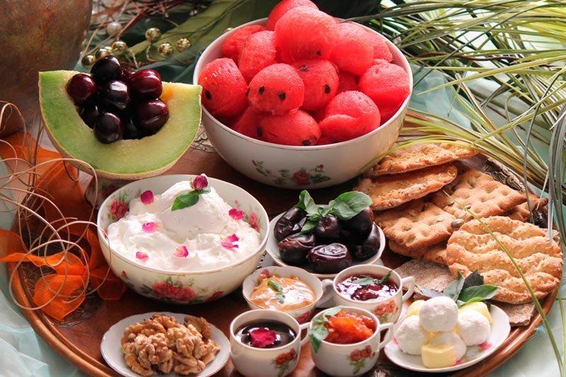 برنامه غذایی سالم در رمضان