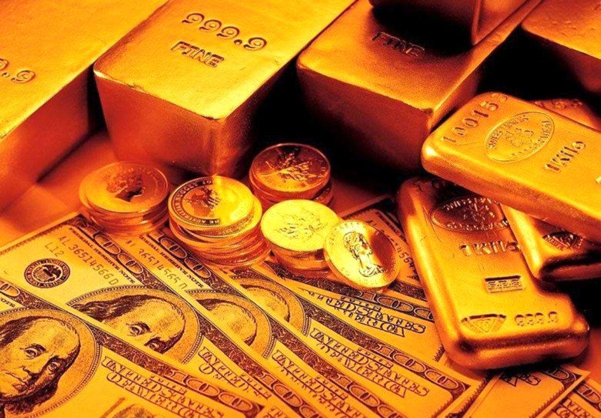 افزایش قیمت طلا در پی ضعف ارزش دلار آمریکا