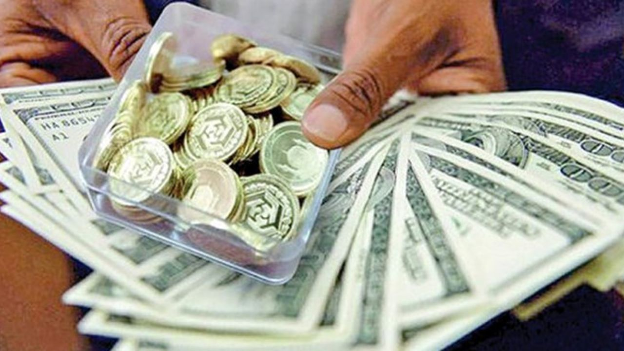 گزارش اقتصادنیوز از بازار ارز وطلای تهران؛ دوری سکه از مرز ۷ میلیونی