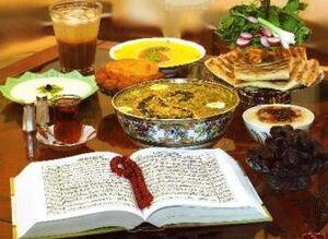 اگر شما هم در ماه رمضان شام نمیخورید، بخوانید