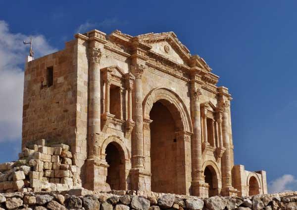 جرش اردن/شهری باستانی و شگفت انگیز