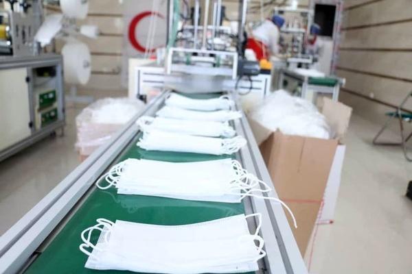 تولید  روزانه ۲.۵ میلیون  ماسک در بخش تعاون