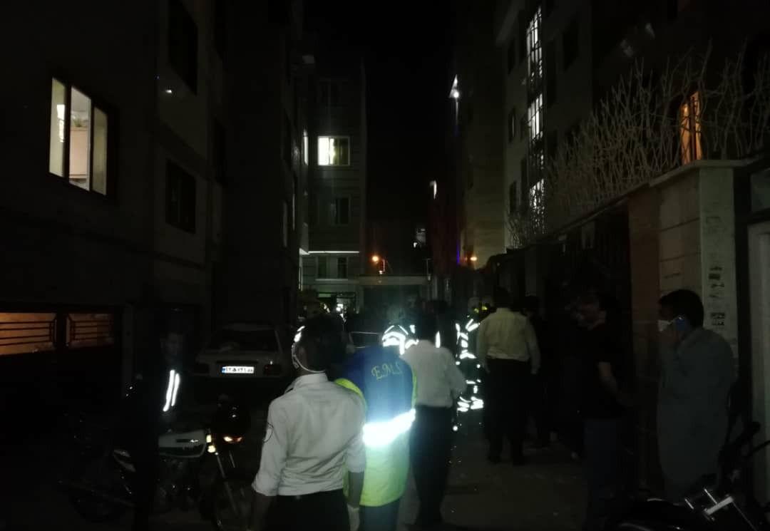تهرانی ها از شبی وحشت زده گفتند ! انفجار در بامداد + عکس و فیلم