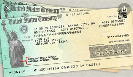 ترامپ چک های ارسالی برای کمک به کرونا را دوباره چاپ کرد