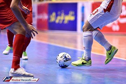 زمان برگزاری فینال لیگ برتر فوتسال