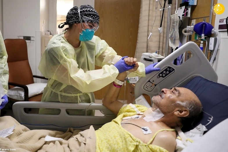 پزشک باردار به جنگ کرونا رفته است + عکس