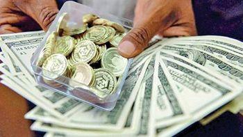 دلار از بازار سکه جا ماند