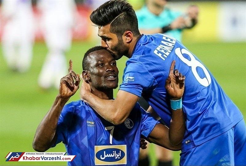 گل تیام برای استقلال در جمع ۵ گل برتر لیگ قهرمانان آسیا +لینک نظرسنجی