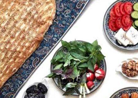 برنامه غذایی مناسب در ماه مبارک رمضان