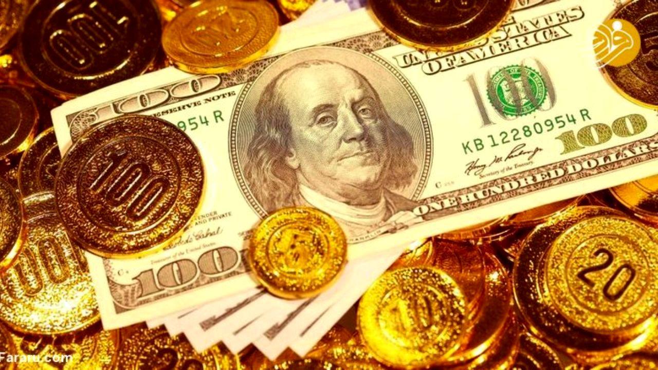 ریزش قیمت دلار و سکه/ فروشندهها زیاد شدند