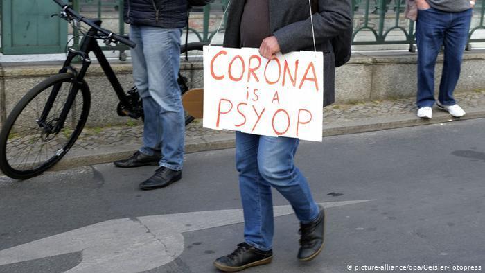 """۲۰ درصد آلمانیها موضوع کرونا را بزرگنمایی""""میدانند"""