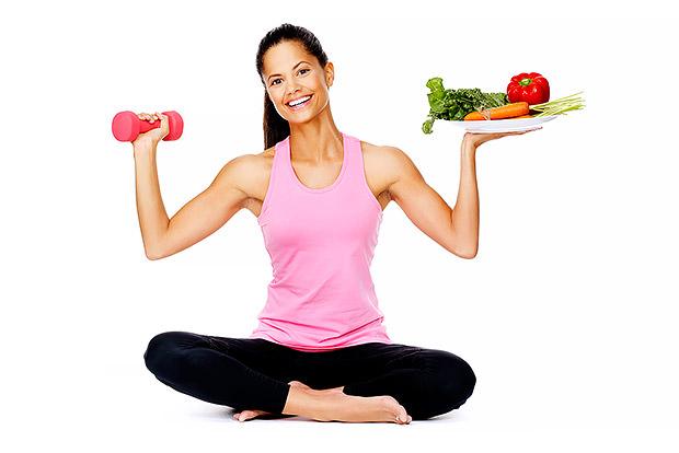 ورزش و رژیم غذایی سالم