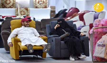 مرکز خرید لاکچری در ریاض عربستان + عکس
