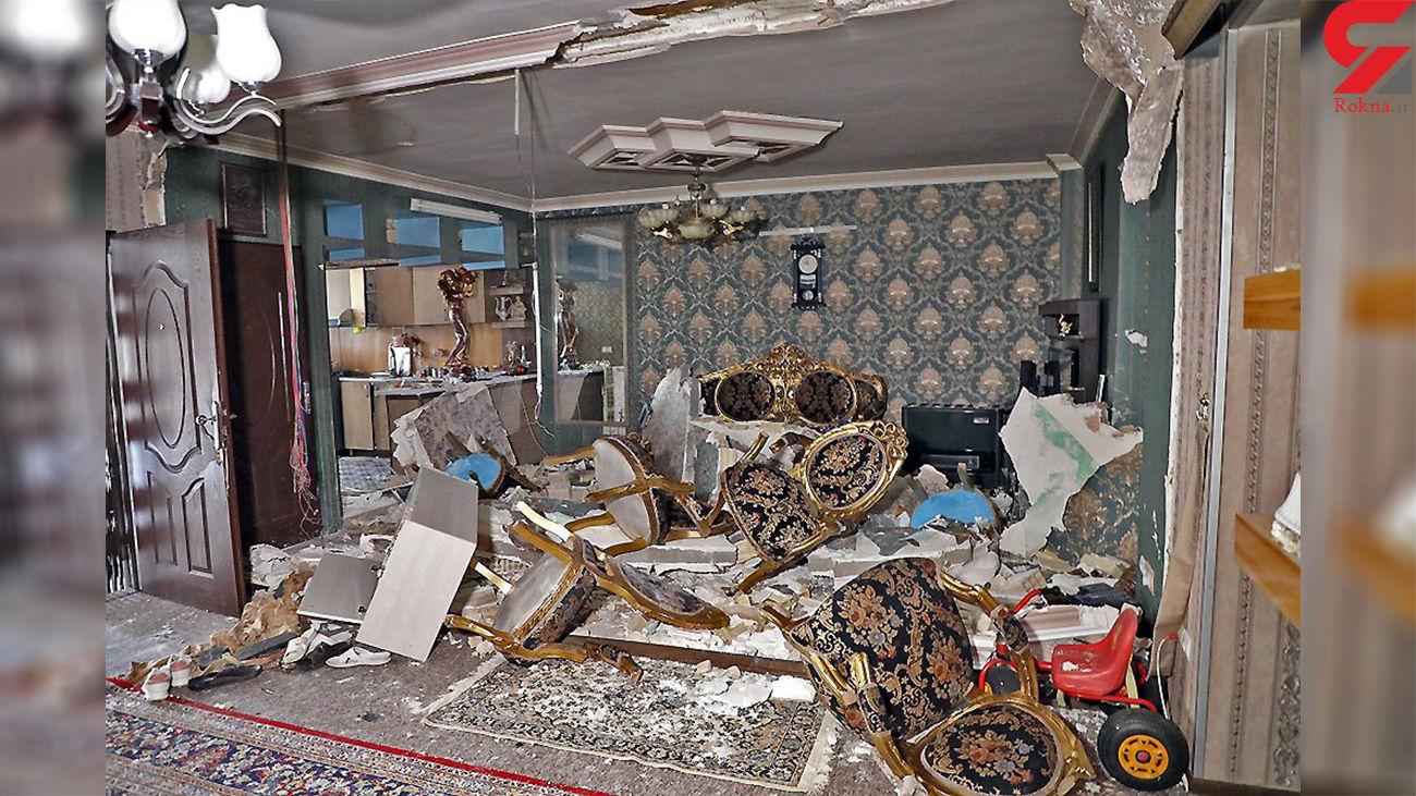 انفجار مشکوک یک ساختمان مرگ دختر همسایه را رقم زد + عکس