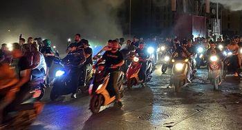 تظاهرات مردم لبنان به کاهش ارزش لیره در مقابل دلار